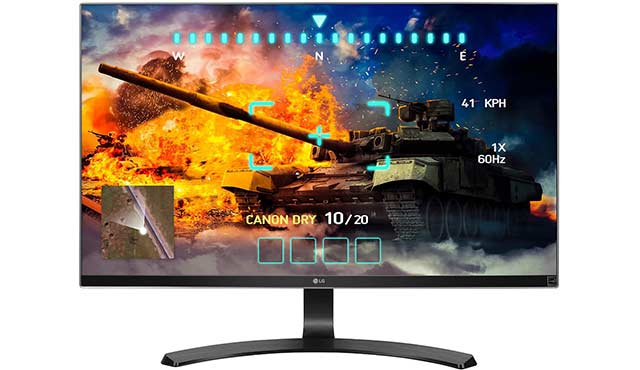 LG 4k UHD Monitor 27UD68-P - Top 10 Best Budget 4k Monitors For Gaming Under 500$ in 2016