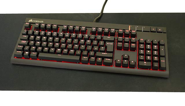 Corsair STRAFE Cherry MX - Best Gaming Keyboards 2016 - Top 10 Keyboards For Gamers