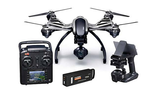 Yuneec-Q500-4K-Typhoon-Quadcopter-Drone-RTF-with-CGO3-Camera,-ST10+-&-Steady- Grip - Best Drones 2017 – 10 Top Rated Quadcopter Reviewed