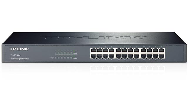 TP-LINK 24-Port Gigabit Ethernet Rackmount Switch (TL-SG1024) - Best Ethernet Switches 2017 - 10 Top Network Switch